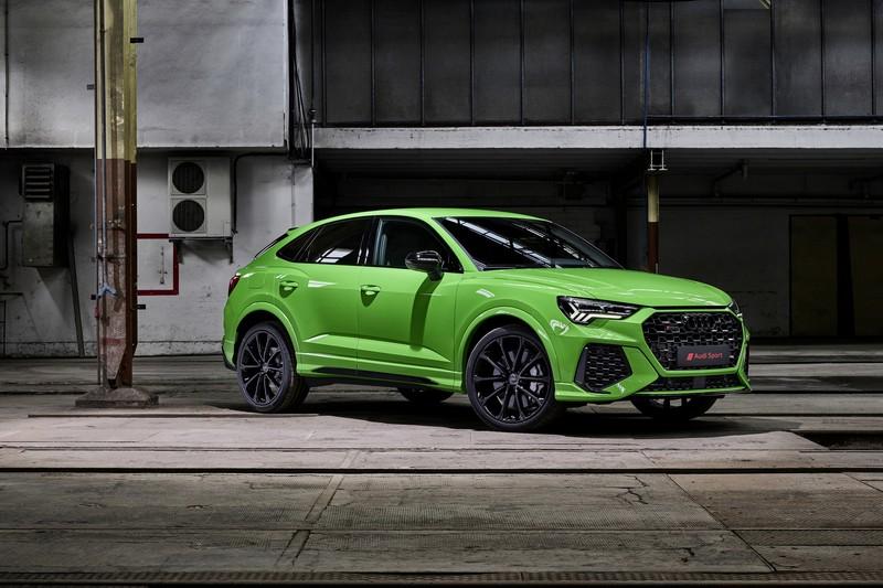 RS Q3與RS Q3 Sportback再新世代家族設計下顯得更加跑格。