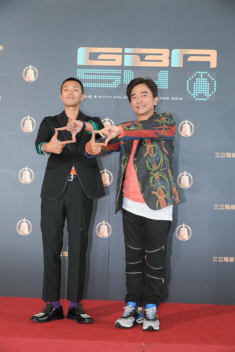 (左起)小鬼黃鴻升、吳宗憲
