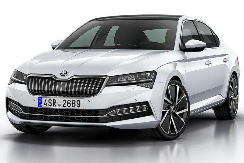 小改後Superb的車頭樣貌將是全新Octavia長相的重要依據。
