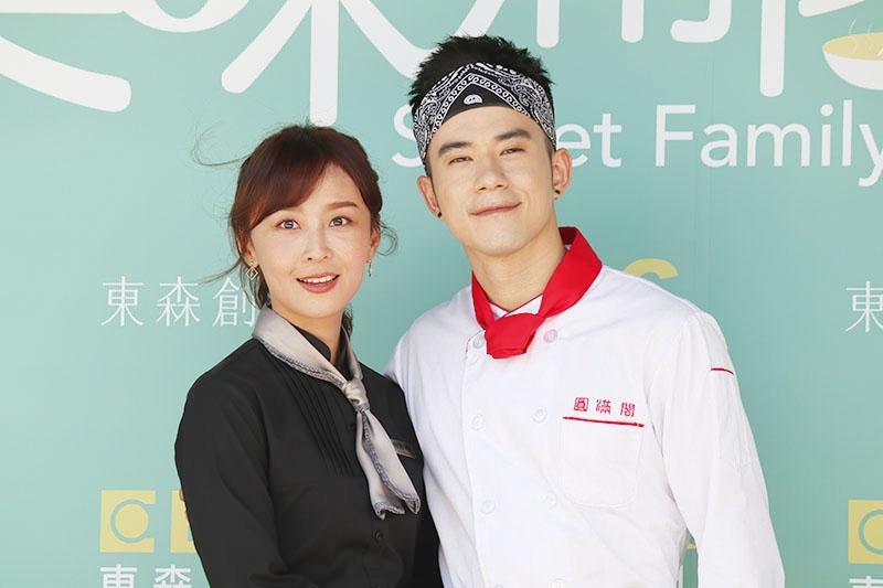 JR紀言愷(右)、林昀希(左)