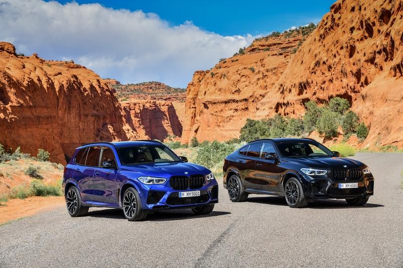 BMW替X5 M與X6 M增加性能更強的Competition車型。