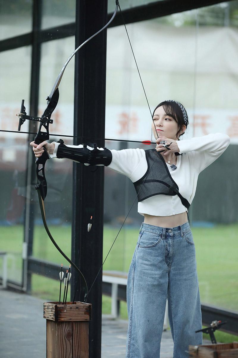 汪小敏挑戰射箭/種子音樂提供