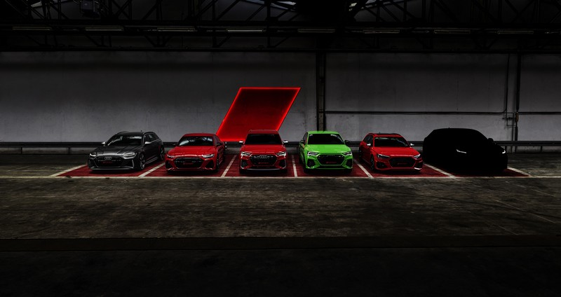 不久後第六款RS車型就會登場了。