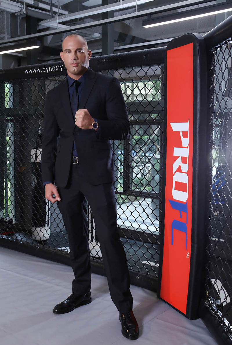 AKA Thailand CEO - Mike Swick麥可斯維克,15次職業UFC比賽獲勝成績。