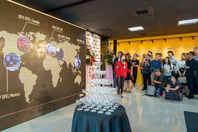 XPEL ASIA總裁卜怡君也在開幕活動中向與會貴賓、媒體及全台經銷商闡述分享XPEL品牌發展歷程、歐美及亞洲市場歷來銷售成績及未來XPEL ASIA所負擔之核心任務。