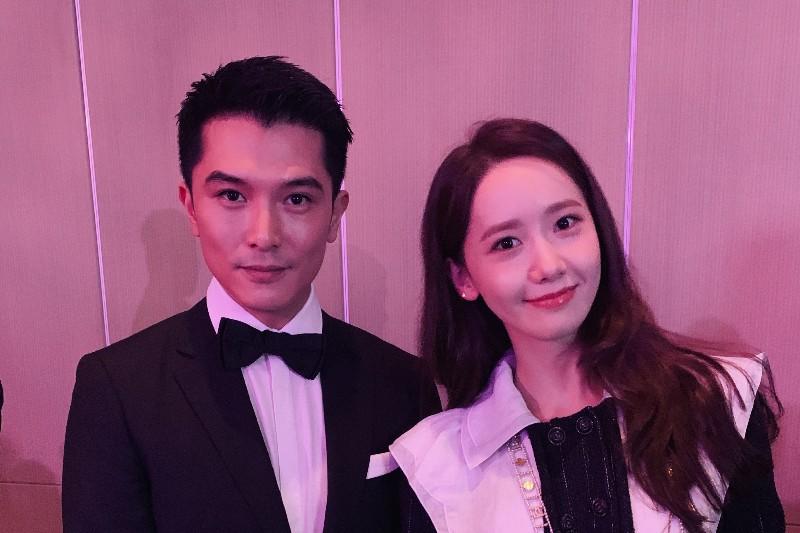 (左)邱澤、潤娥