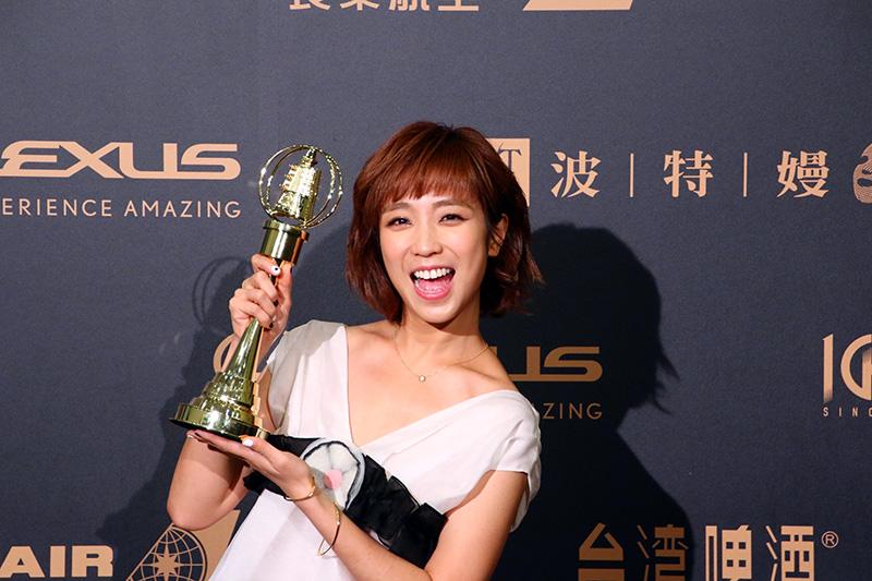 戲劇節目新進演員獎: 梁舒涵/女兵日記