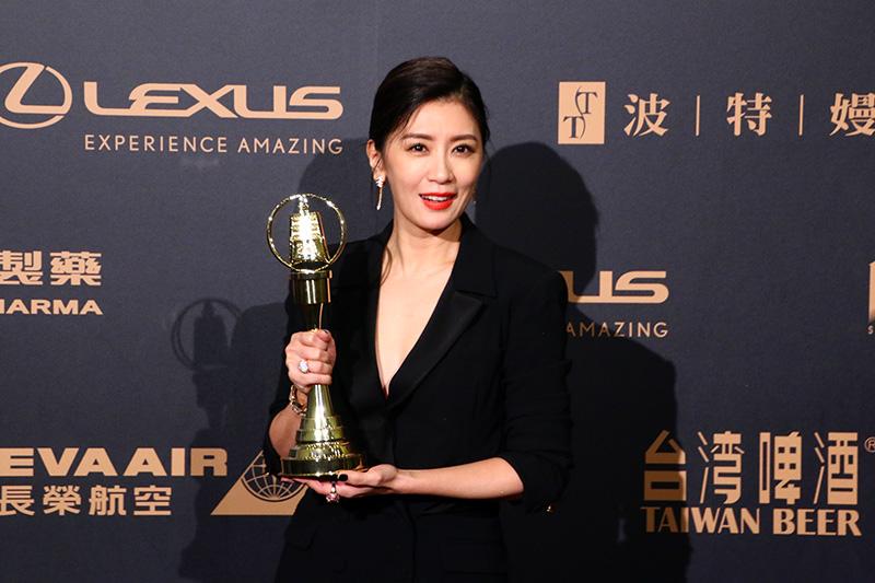 戲劇節目女主角獎:賈靜雯/我們與惡的距離