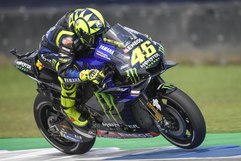 車輛設定與輪胎讓Rossi表現不好,看來只能期待明年換技師團隊後的表現。