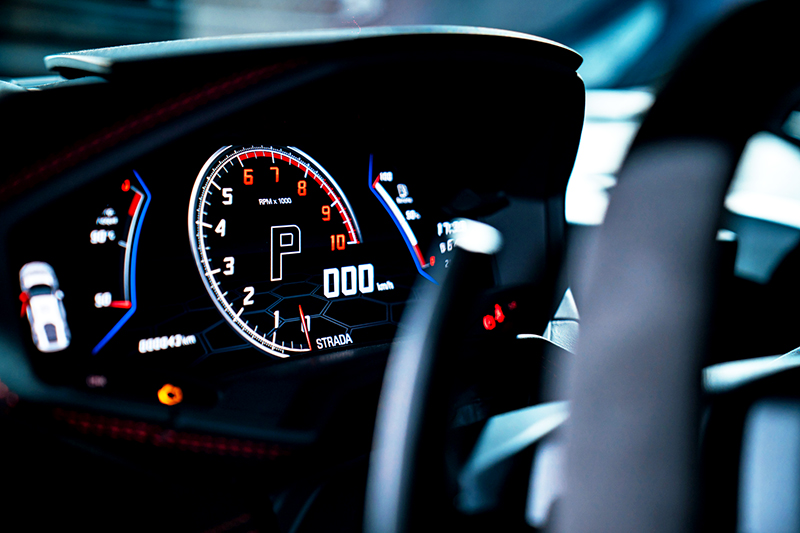 12.3吋數位儀表除資訊豐富外,也方便駕駛觀看速度與轉速。