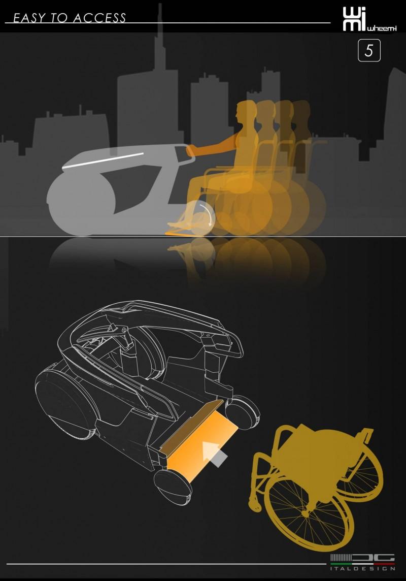 這台「車」專為輪椅使用者打造,造型特殊不免讓人多看兩眼