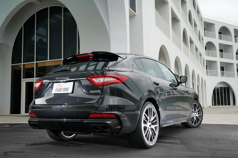 Levante Trofeo是一輛能平日輕鬆代步周末休閒熱血的全方位豪華性能SUV
