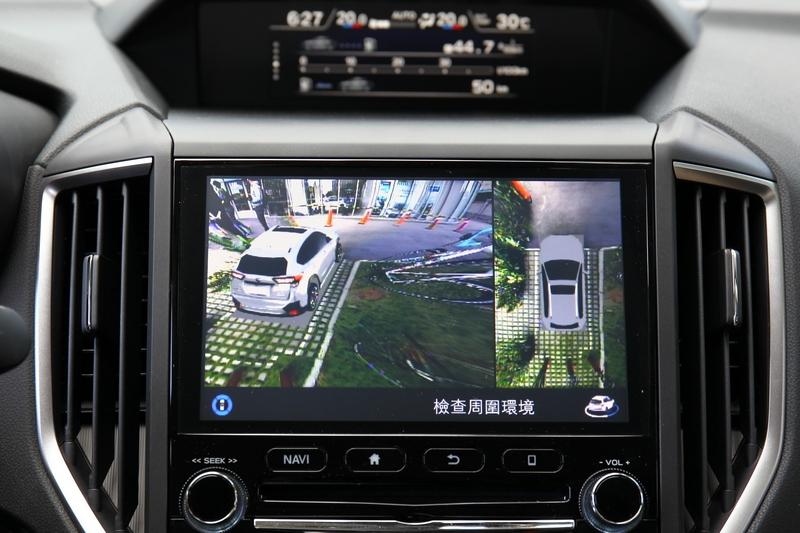 XV GT Edition新增360環景影像系統。