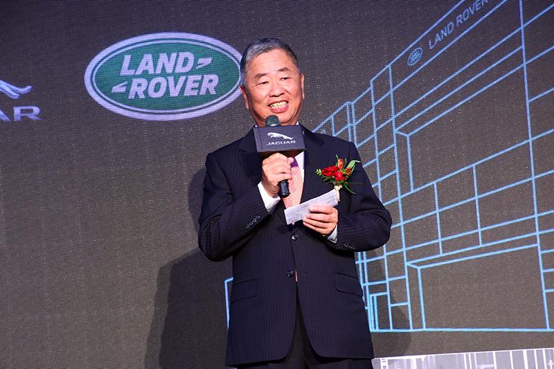 九和汽車陳貽彬總經理同時宣布Jaguar Land Rover經銷體系 20周年慶活動將同步展開。