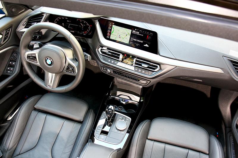 新世代1系列有著熟悉的BMW最新設計鋪陳。