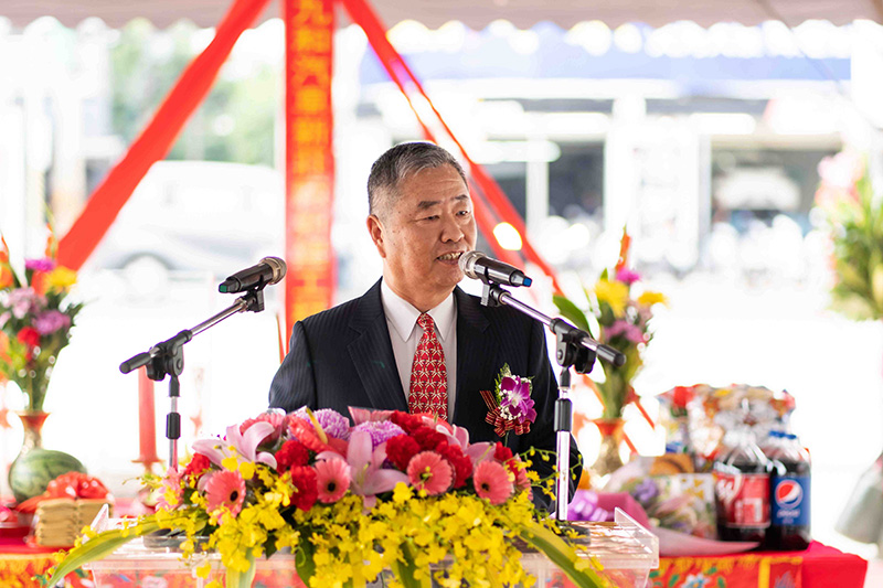 九和汽車總經理 陳貽彬。