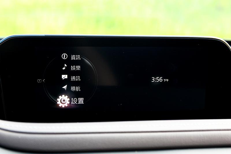 全新8.8吋中控螢幕帶來更直覺的操作介面。