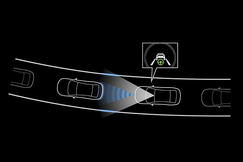 CTS車道維持僅止於55km/h內作動,若能涵蓋高速會裡想。