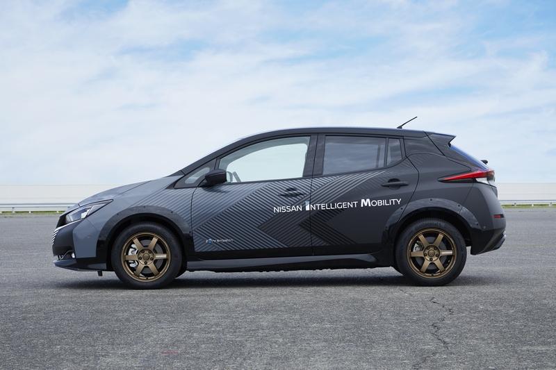 高性能車型是以Leaf+為基礎進行調校。