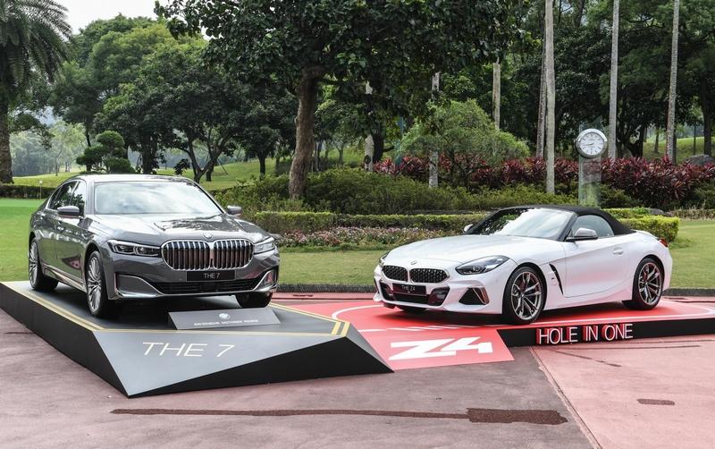 BMW總代理汎德提供Z4 M40i敞篷跑車乙輛做為一桿進洞的幸運大獎。