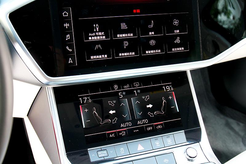 A6承襲A8格局搭載上10.1吋、下8.6吋雙層螢幕。