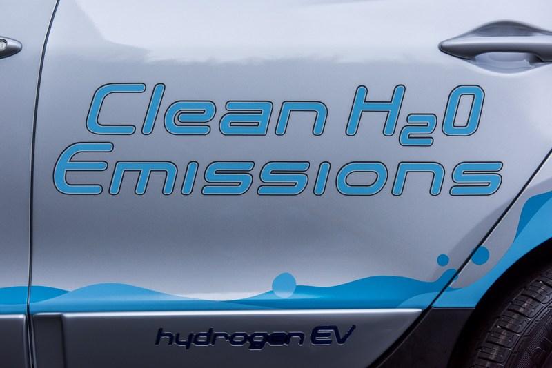 氫動力於排放時僅會排放水氣而已。
