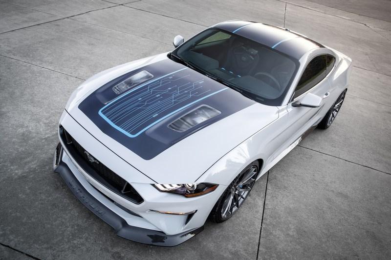 Ford與Webasto合作推出電動版野馬。