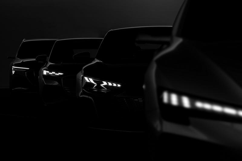 為迎接2025純電時代,Audi日前於德國總部舉辦科技電動日(TechDay Insight e-mobility),展示四種模組化平台生產的電動車。