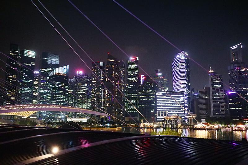 這是新加坡,我們印象中繁華絢爛的新加坡。
