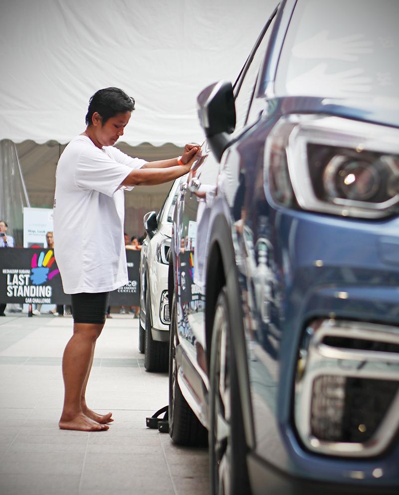 將手堅決放在車上的意義到底是什麼?大概就與Subaru始終對於水平對臥與四驅等設定獨到的堅持差不多吧!