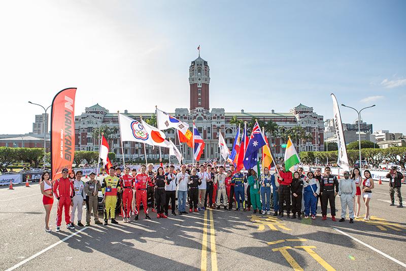 TIGP台北國際金卡納大獎賽共有11國12支隊伍參加。
