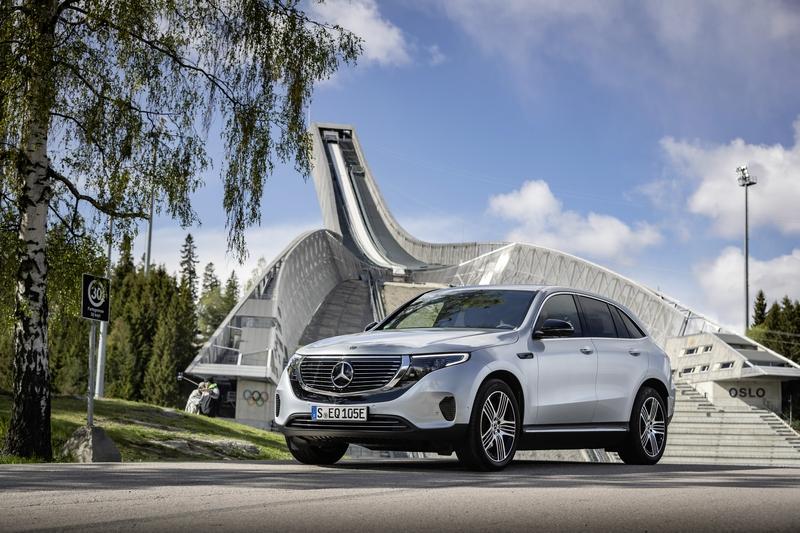Mercedes-Benz已陸續推出EQC、EQS概念車等電動車型。