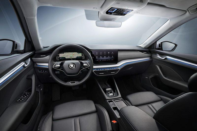 新世代Octavia透過虛擬座艙創造開闊簡約氛圍。