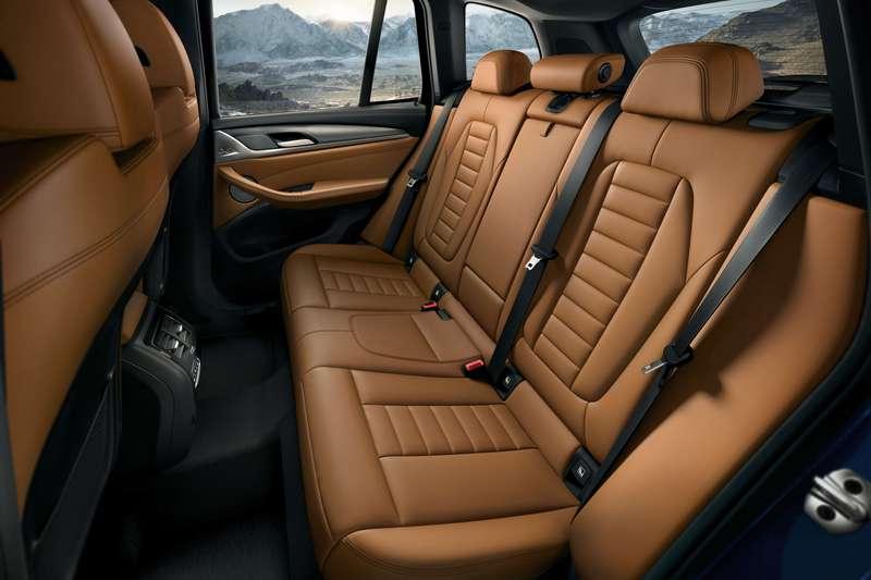 X3升級內裝以頂級Vernasca真皮材質鋪陳。