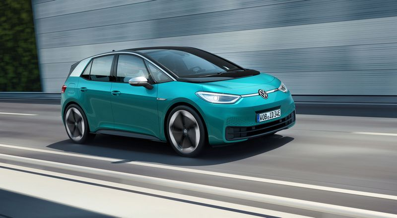 Volkswagen ID家族ID.3已發表。