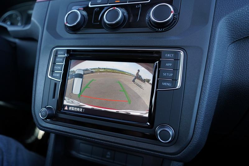 倒車顯影系統對體積龐大的商旅車來說相當實用