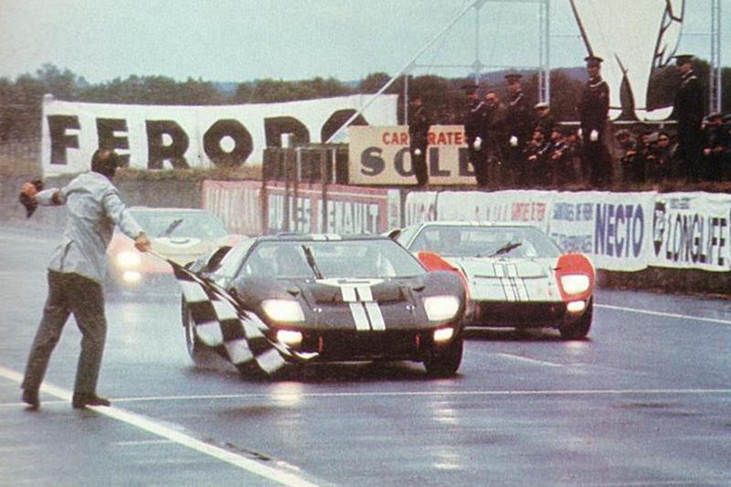 Ford在1966年的「利曼24 小時耐力賽」成功打破Ferrari 五連冠紀錄,一舉奪下該賽事前三名,成為首次奪冠的美國汽車品牌。