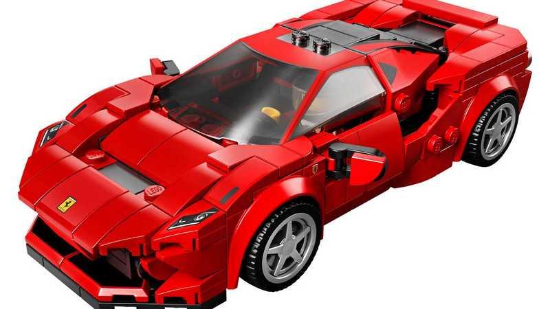 Lego日前推出Ferrari F8 Tributo Lego。