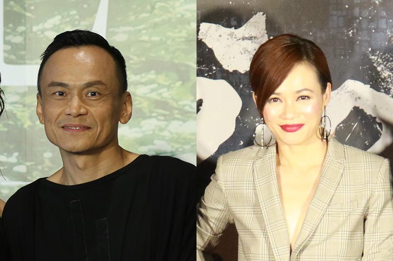 第56屆金馬獎最佳男主角陳以文(左)、最佳女主角楊雁雁(右)/本站資料照片