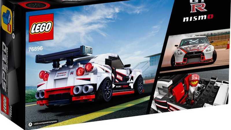 Lego首度推出日本車型,而首款車型就是Nissan GT-R Nismo。