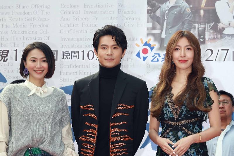 (左起)侯怡君、姚淳耀、楊謹華