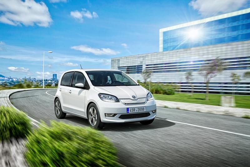 Skoda首款電動車Citigoe iV日前已正式下線生產。