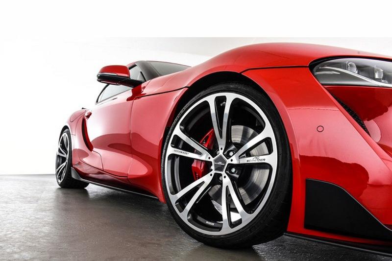 有多款20吋鍛造輪圈可選。