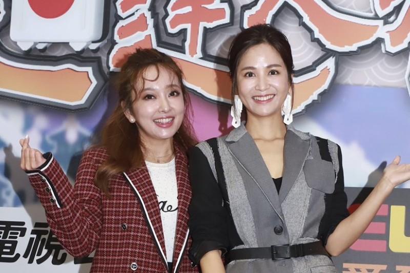 (左起)千田愛紗、吳怡霈