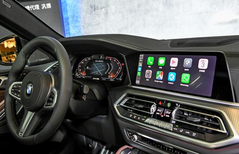 雙12.3吋數位螢幕帶來便利的虛擬座艙體驗。