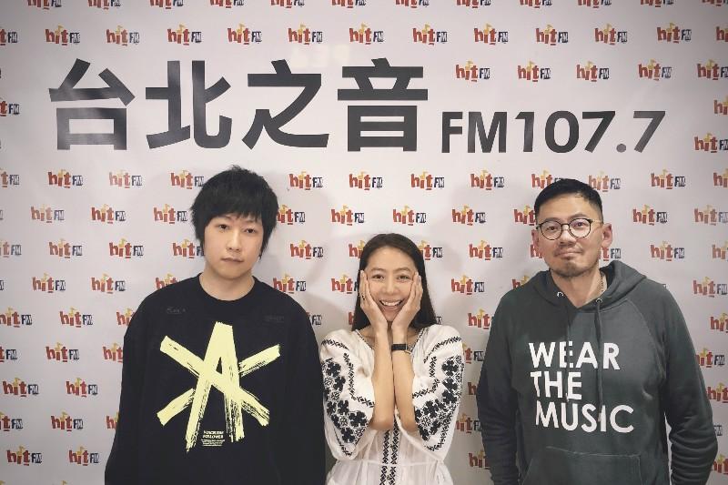 (左起)五月天阿信、陳綺貞、葛大為