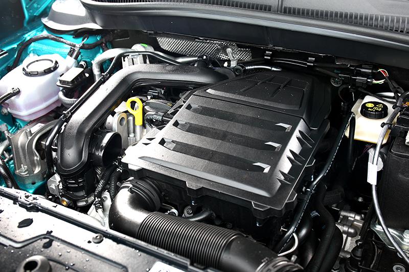 T-Cross在國內市場僅提供單一1.0升TSI渦輪增壓引擎
