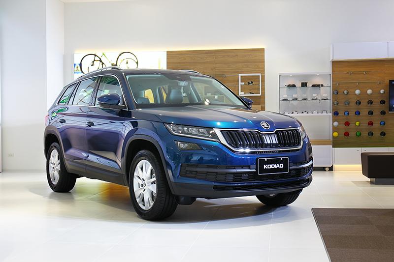 現場展示的Kodiaq為新年式車型。