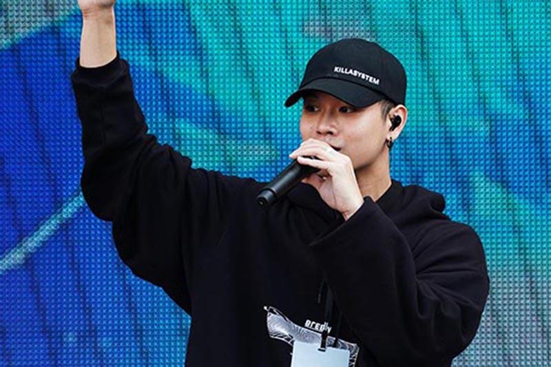 高爾宣為「2019新北歡樂耶誕城巨星演唱會」表演彩排/ TVBS提供
