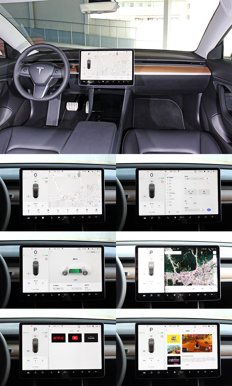 透過一具平板即能控制車內所有功能,明年中國亦會增加具有線上功能的麻將遊戲。